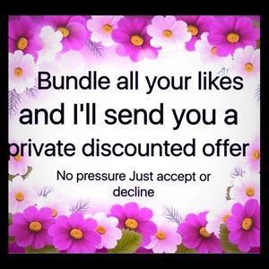 Other - 15% Off Bundles!